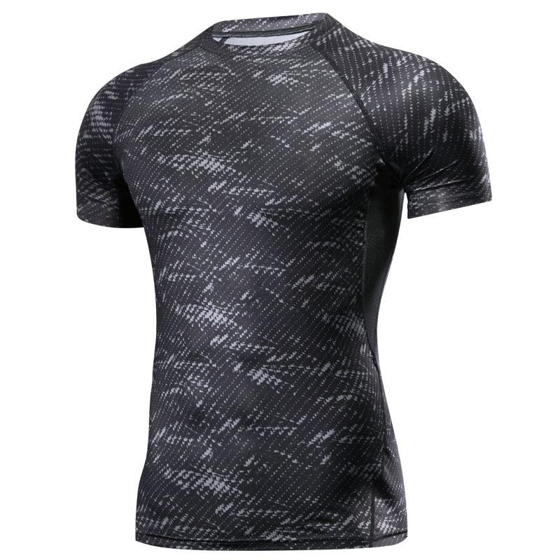 New Boxing MMA T Shirt Rashguard MMA Gym Tee Shirt Fighting Martial Arts Fitness Training Muay Thai T Shirt Men Homme  Jersey