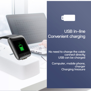 Image 4 - איש נשים חכם צמיד שעון צבע מסך קצב לב לחץ דם ניטור מסלול תנועה חכם להקת עבור אנדרואיד ios של אפל