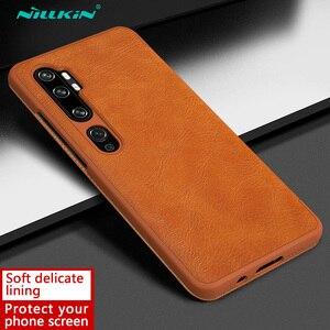 Image 5 - Nillkin Qin Book Flip Leather Case Cover For Xiaomi Mi Note 10 Pro Mi10