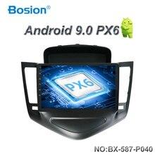 Bosion 9 pulgadas doble din Car Radio reproductor Multimedia de navegación GPS Android 9,0 para Chevrolet CRUZE 2009-2014 sin reproductor de dvd