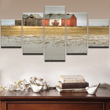 5 Planes House Room Decor Canvas Art Painting Picture Photo Living Office for Women and Men