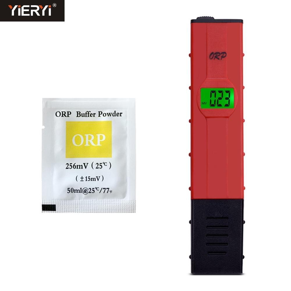 Yieryi ORP-2069 ORP метр ручка с ORP буферный порошок тестер качества воды-1999 ~ 1999мв для питьевой воды аквариума бассейна