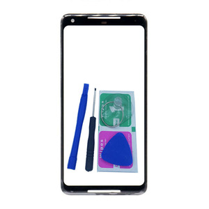 For Google Pixel 2 3 XL 3A XL Original Phone Touch Screen Front Outer Glass Panel Pixel2 Pixel3 Replacement + Tools