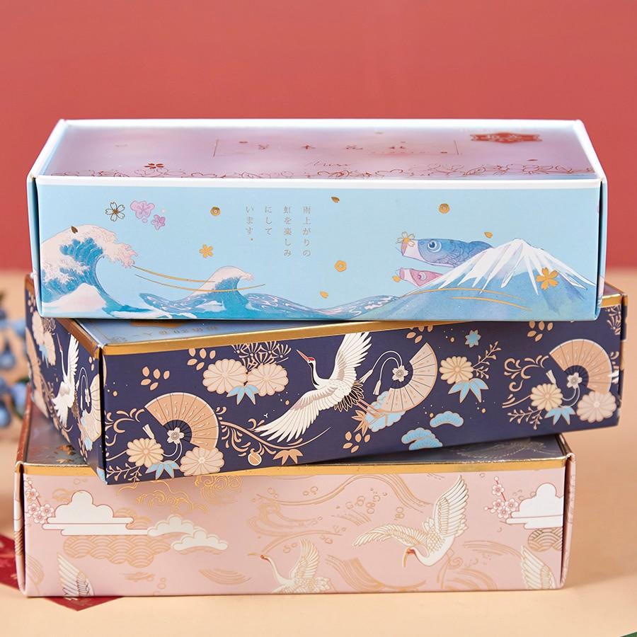 Masking Tape-Set Paper Decoration Adhesive Washi Flower-Star Palace-Spring Gold-Color