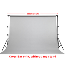 Meking 2.8m 9.2ft cross bar only Multi Function L-2800G for Background Backdrop Support System