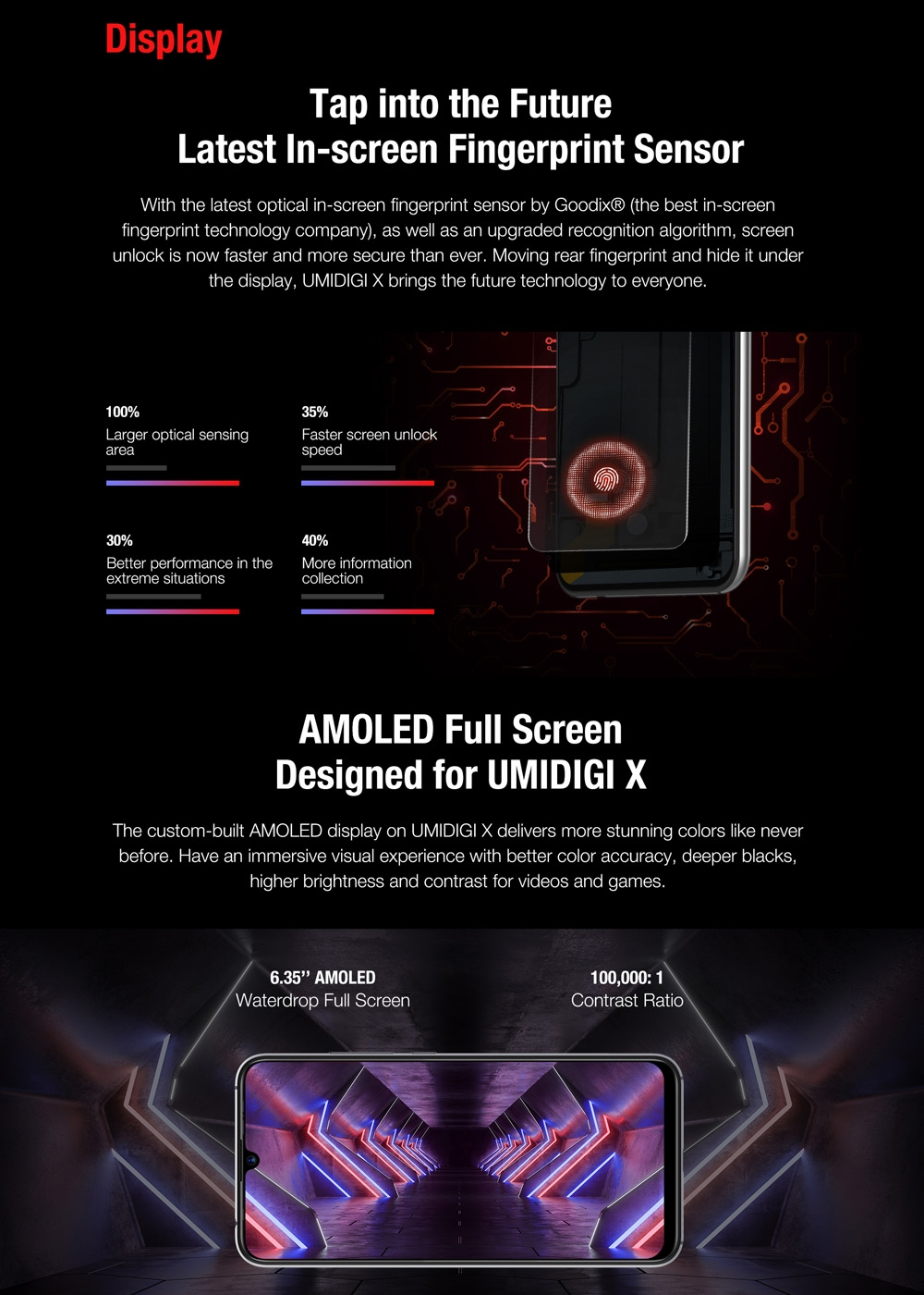"""Image 5 - UMIDIGI X Smartphone Android 9.0 4GB RAM 128GB ROM 6.35"""" AMOLED Helio P60 Global Version Dual 4G 48MP Triple Back Cams 4150mAh-in Cellphones from Cellphones & Telecommunications"""