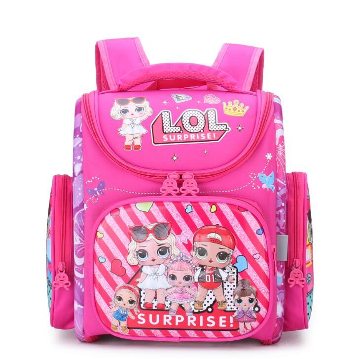 Ортопедические школьные рюкзаки для девочек, детские школьные сумки для девочек, LOL Surprise Dolls, рюкзак для детей, школьные ранцы, ранец|Школьные ранцы| | АлиЭкспресс