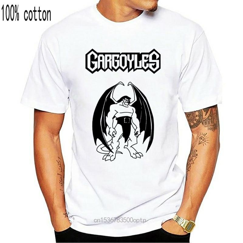 Gargoyles 90cartoon s dos desenhos animados goliath cheez tv clã camisa tamanhos muitas cores dos desenhos animados t camisa masculina unissex nova moda tshirt