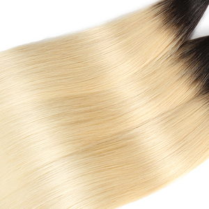 Image 5 - 613 בלונד שיער טבעי חבילות Kemy שיער 8 כדי 26 אינץ ברזילאי ישר שיער טבעי Weave חבילות ללא רמי שיער הרחבות 1PC