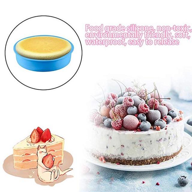 Silicone Round Cake Molds
