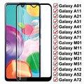 9D закаленное стекло для Samsung Galaxy A01 A11 A21 A31 A41 A51 A71 защитное стекло M01 M11 M21 M31 M51 A12 A42 A52 A72 F41 стекло