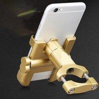오토바이 전화 손잡이에 대 한 휴대 전화 홀더 알루미늄 두꺼운 버전 강력 하 고 잡아 Shockproof 고정 적합