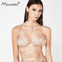 Missomo 2019 Summer New Fashion Sexy  Slim Elegant Evening Ladies Tops Bodycon Womens Female Bras