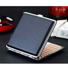 Container-Lighter Storage-Case Cigarette-Accessories Stainless-Steel Open-Box Metal-Frame
