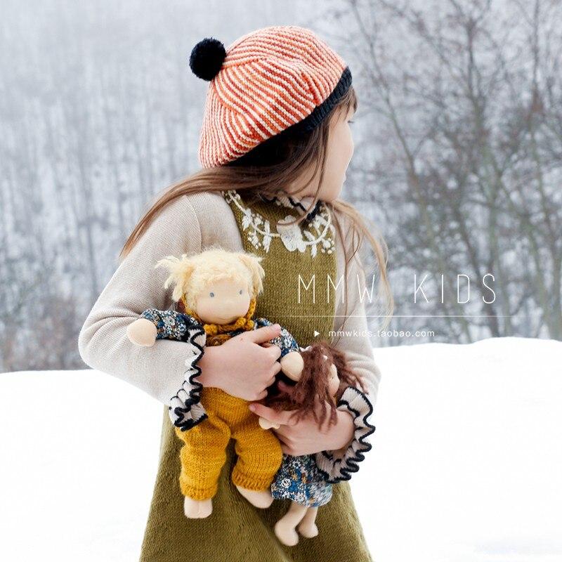 New Winter Kalinka Kids Clothes Girls Sweater Baby Bloom Neck Fashion Knit Cardigan Children Cotton Wool Tops Boys Clothing 3