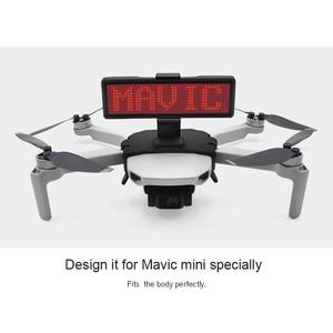 Image 5 - STARTRC Mavic Мини светодиодный дисплей экран комплект Расширения Аксессуары для DJI Mavic мини Дрон