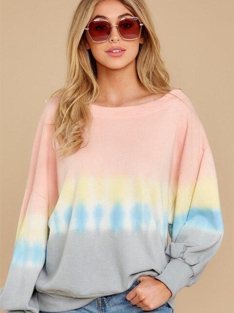 Купить повседневные женские осенние толстовки спортивная рубашка модный картинки цена