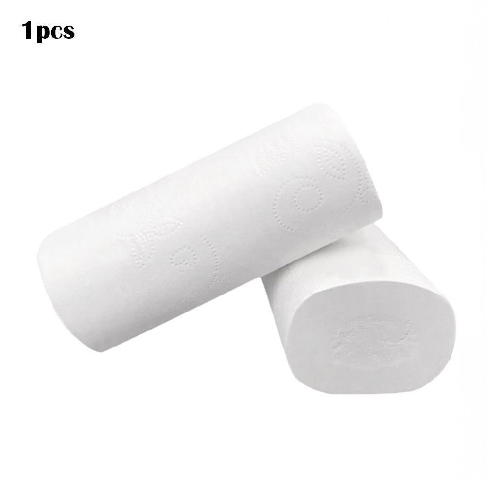 1Pcs Rolls Toilet Paper Bulk Bath Tissue Bathroom White Soft Toilet Paper Towel