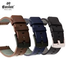 Echtes Leder Uhr band Strap für Samsung Galaxy Uhr 42 46mm Getriebe S3 Sport Armband Quick Release 18 20 22 24mm z26 cheap EASTAR CN (Herkunft) 20cm Uhrenarmbänder Neu ohne Etiketten Watch strap Buckle