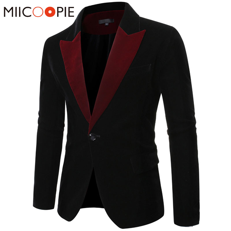 Men Clothes Casual Suit Men Blazer Masculino Slim Fit Single Button  Formal Stage Wedding Dress Blazers Suits Jacket Plus Size