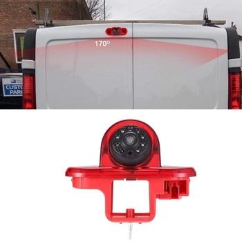 High Definition Waterproof IR Night Vision Rear View Backup Brake Light Camera for Renault Trafic 2001-2014 Opel/Vaxhall Vivara