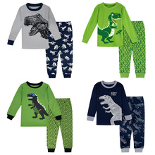 Kids Boys Dinosaur Pajamas Set Toddler Christmas Pjs Children Thanksgiving Xmas Sleepwear Child Pirate Sailor Nightwear