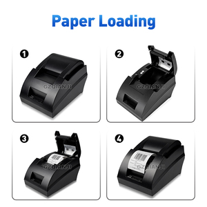 Image 3 - 58mm thermal USB Bluetooth 2 inch receipt Bill printer 58mm usb thermal printer usb pos system for supermarket