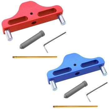 Promotion! Caliper Scribe Gauge Center Finder Woodworking Center Scribe for Gauge Marking Layout Woodworking Measurement Tool