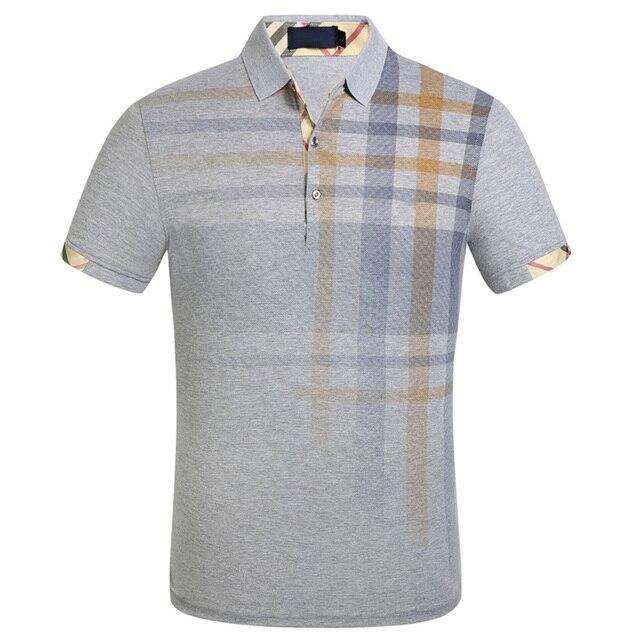 Brand New Men's Polo Shirt Men Cotton Short Sleeve Shirt Sportspolo Jerseys Plus Size M- 3XL Camisa Polos 4