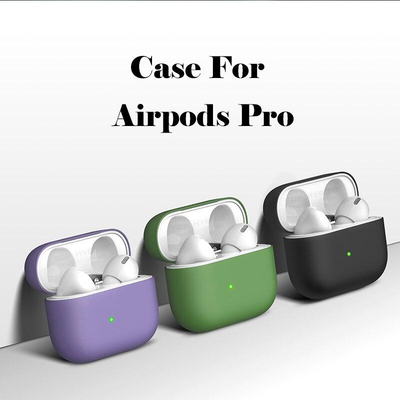 Silicone Case For Airpods Pro Case Liquid Wireless Bluetooth Case For Airpod 3 Case Cover For Air Pods 3 Pro Fundas Capa Coque