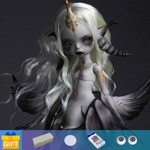 Image 1 - Shuga Fairy 1/4 Uzoi BJD Dolls Resin Model Fashion Figure Toys For Girls boys gift Dolls
