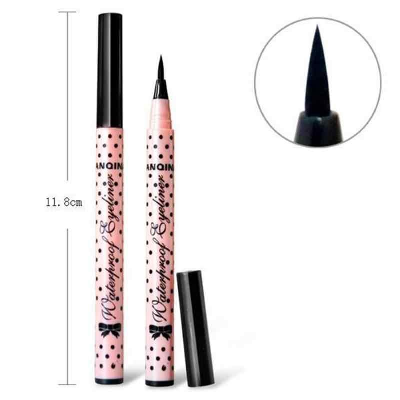 1 個スムーズなアイライナー液体鉛筆アイライナーペン黒防水高品質のメイクアップ comestic 女性のためのホット販売 TSLM1