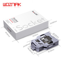 WOZNIAK QIANLI iSocket için iPhone x xs/xs max anakart testi fikstür Için IPHONEX çift katlı anakart Fonksiyonu test cihazı