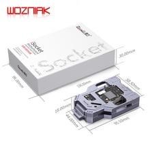 WOZNIAK QIANLI iSocket para iPhone x xs/xs max placa base de ensayo para IPHONEX doble cubierta de la placa base de la función probador