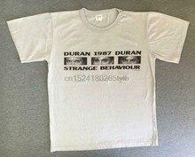 Рубашка DURAN 1987, винтажный известный альбом 80 с необычным поведением