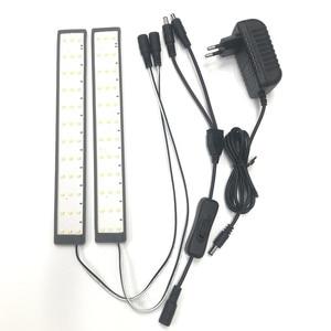 Image 5 - SANOTO Мини Настольный светодиодный светильник с 2 панелями, складной портативный софтбокс для фотостудии, шатер фон для съемки