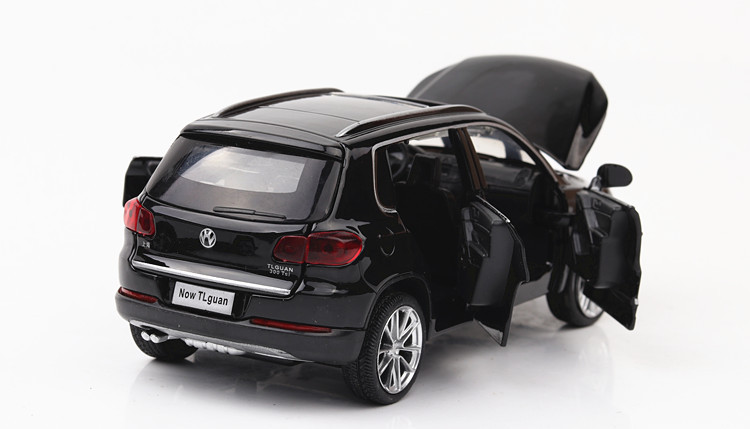 Para Volkswagen Tiguane Modelo Escala 1:32 Diecast