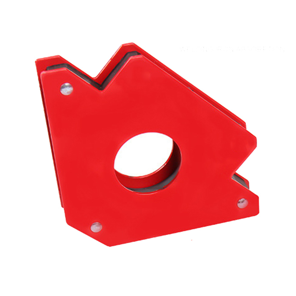 25LBS Triangle Magnetic Welding Positioner Angle Corner Locator Holder Tool Welding Positioner Bracket Tool