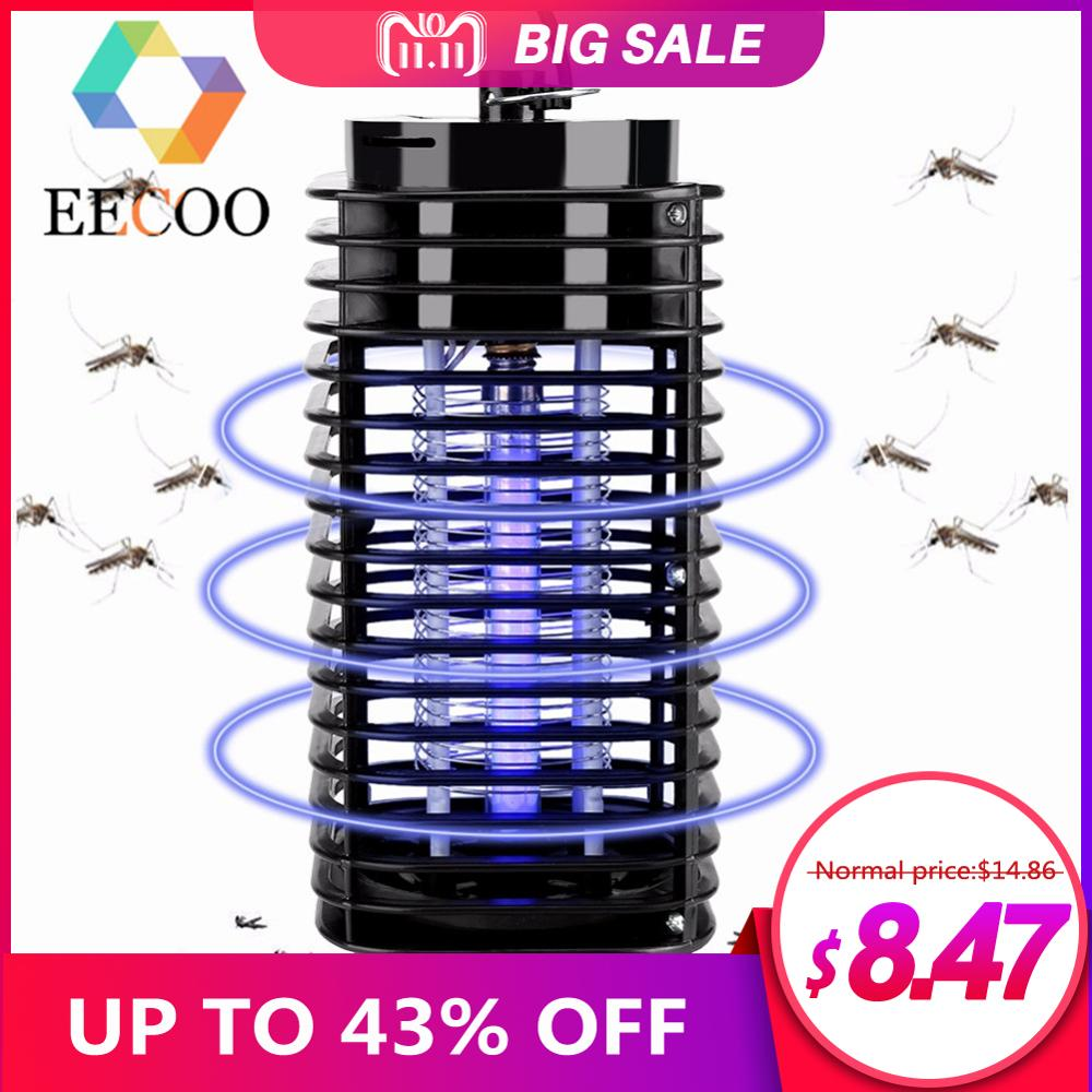 Image 1 - Electric Mosquito Insect Killer Lamp Led Photocatalyst Fly Trap Bug Insect Killer Trap Lamp Anti Mosquito Repellent EU US Plug-in Repellents from Home & Garden