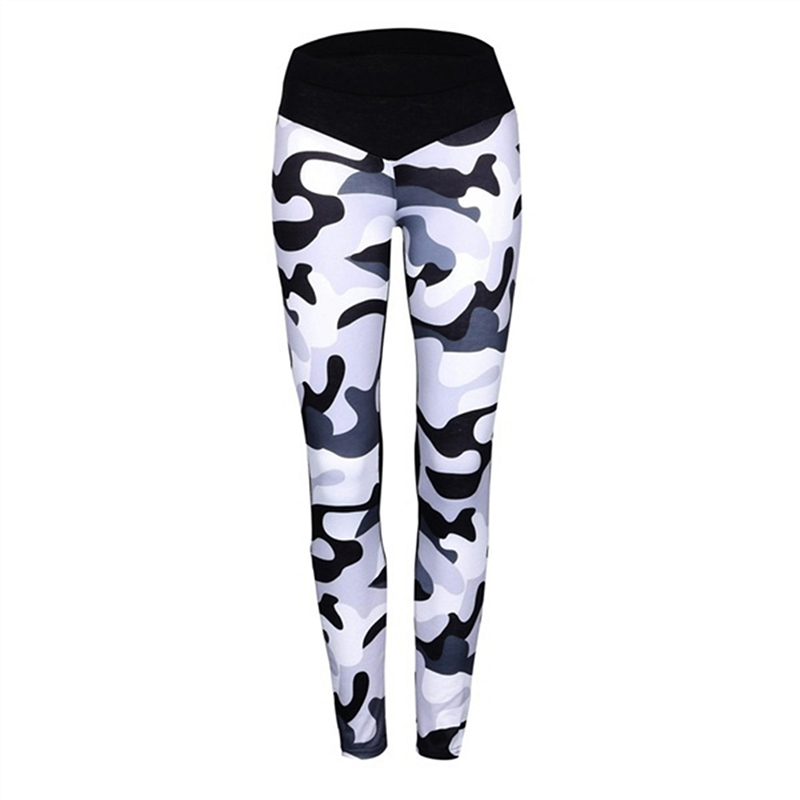 2019 New Arrival Summer Autumn Fashion Women Sweatpants Cotton Camouflage Pants Slim Skinny Female Casual Bottoms Capris