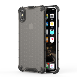 Image 2 - Honeycomb Rugged Hybrid Armor Case For iPhone 11 Pro XS Max XR XS X 8 7 6s 6 Plus Cover Transparent Shell  Accessories (XS0514)