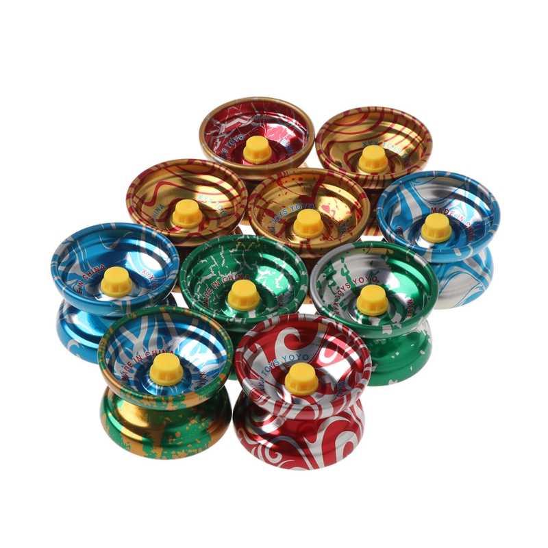 Aleación de aluminio, YOYO, rodamiento de bolas, juguete de truco, regalo para niños, juguetes para niños al aire libre