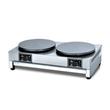 Electro-thermal Pancake Oven Machine Double Head Energy Saving Griddl Commercial Temperature Controllable Frying Pan New Product small blast drying box vertical electro thermal oven intelligent temperature control precise electro thermal blast temperate box