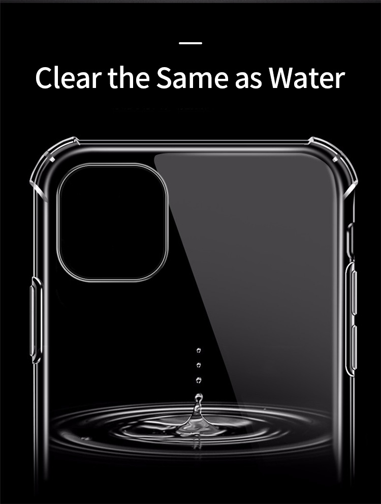 Shockproof Bumper Clear Silicone Case for iPhone 11/11 Pro/11 Pro Max 7