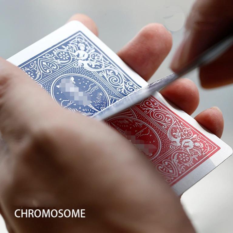 Chromosome постепенное волшебный карты Цвет изменения трюков крупным планом волшебный весело Иллюзия ментализма трюков мага фокусы реквизит|Волшебные фокусы|   | АлиЭкспресс