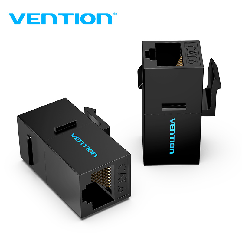 Vention RJ45 Connector Cat6 Ethernet Adapter Female To Female R J45 8P8C Network Extender Extension Cable For Ethernet Cable