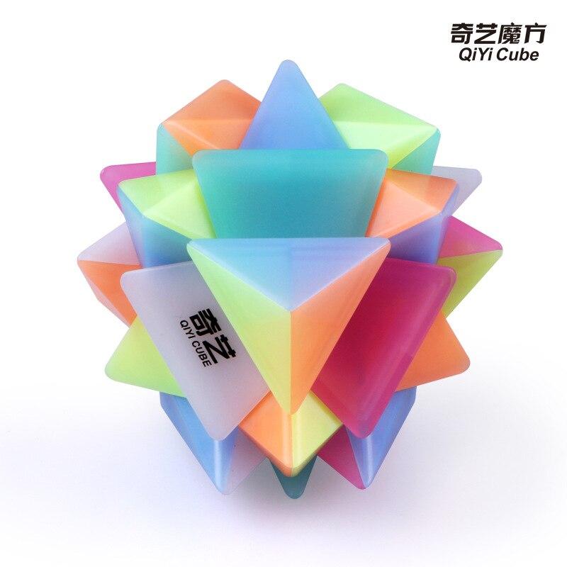 qiyi geleia eixo cubo cubo magico brinquedos 04
