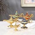 Aladdin домашний декор Ароматические горелки Античный стиль сказочные Волшебные лампы чайный горшок лампа джинна винтажные Ретро игрушки для ...