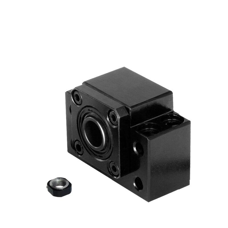 Free Shipping  linear bearing block Ball Screw End Support Unit Series BKBF10 BKBF12 BKBF15 BKBF17 BKBF20 for SFU ball screw