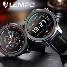 LEMFO NEW Smart Watch Men Sports Tracker Full Touch Screen Health Care Heart RateTiming Measurement IP68 Waterproof Smart Watch